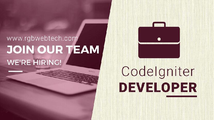 Codeigniter Developer Job Description