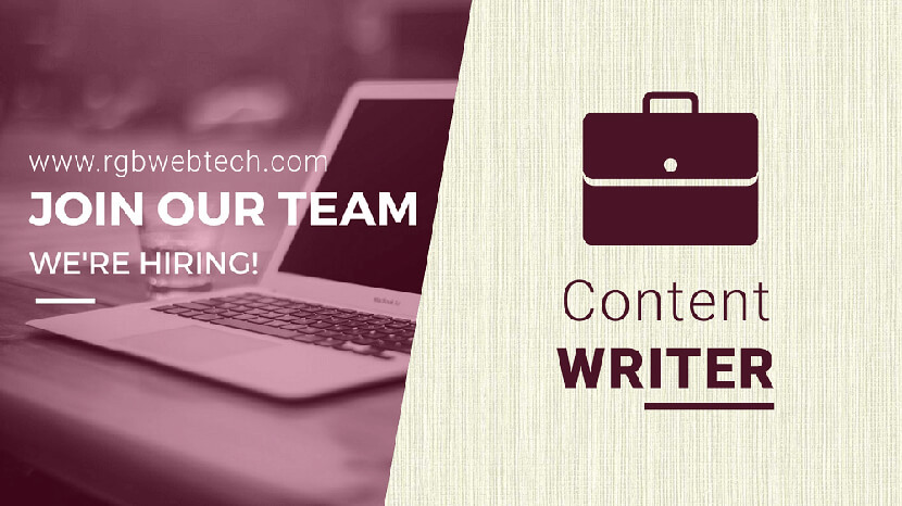 Content Writer Job Openings