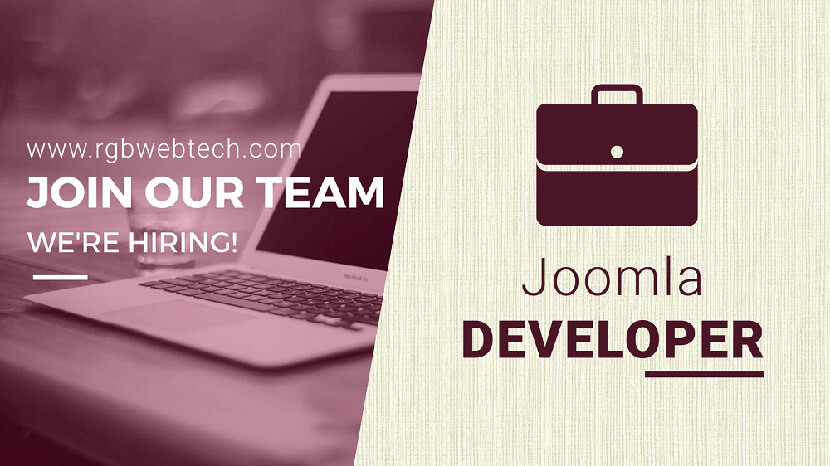 Joomla Developer Job