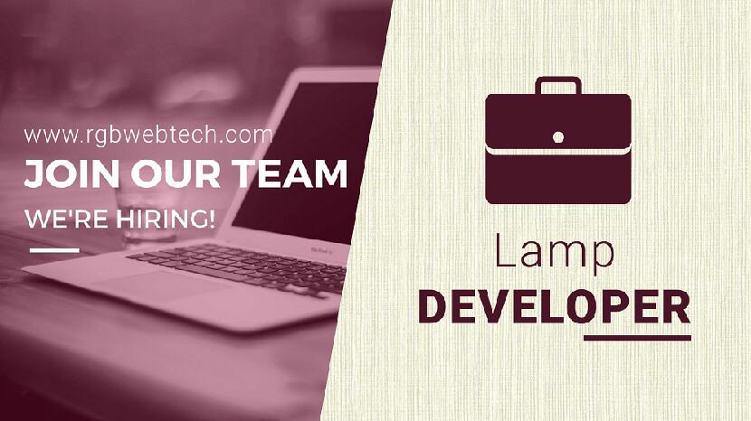Lamp Developer Job