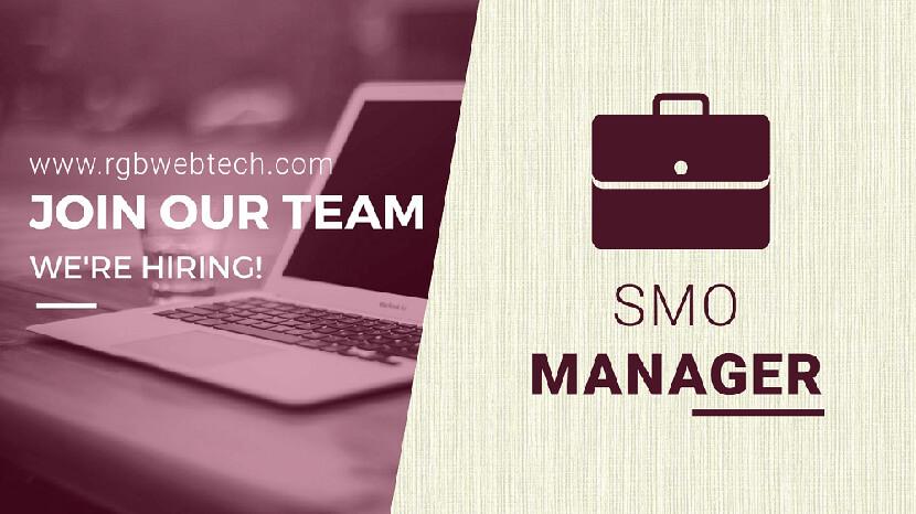 Social Media Optimization Manager Job