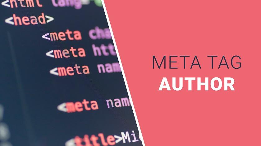 Author Meta Tag