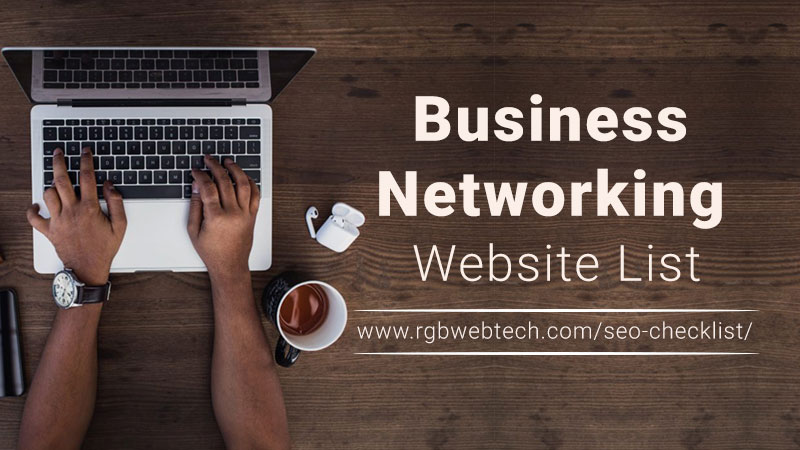 Business Networking Sites List