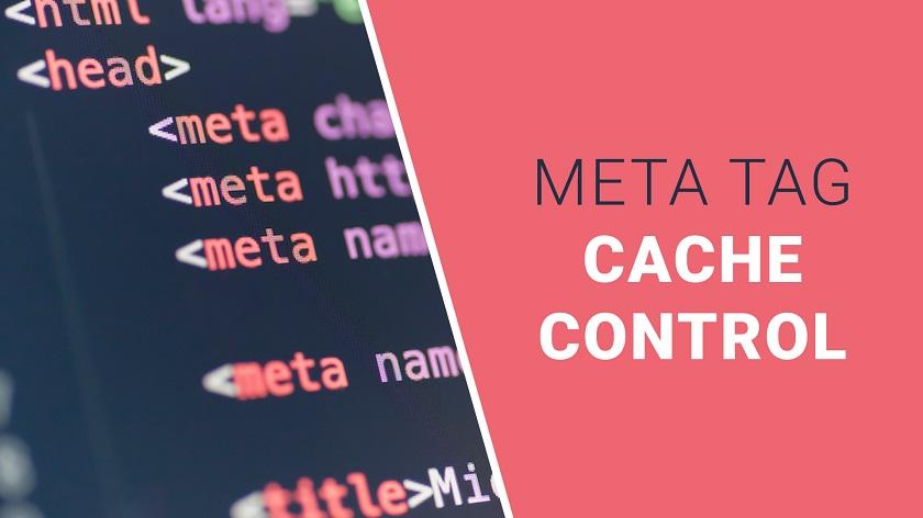 Cache-Control Meta Tag