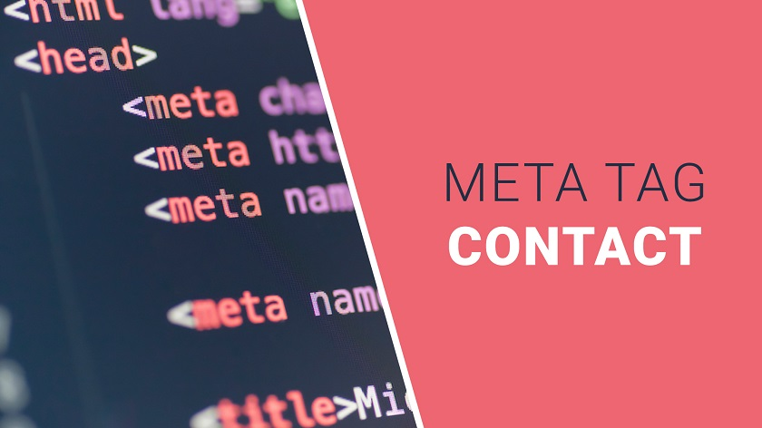 Contact Meta Tag