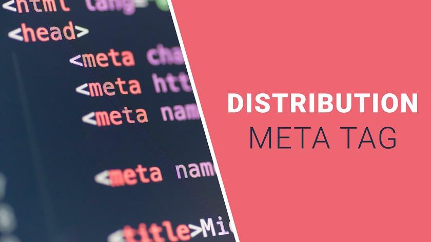 Distribution Meta Tag