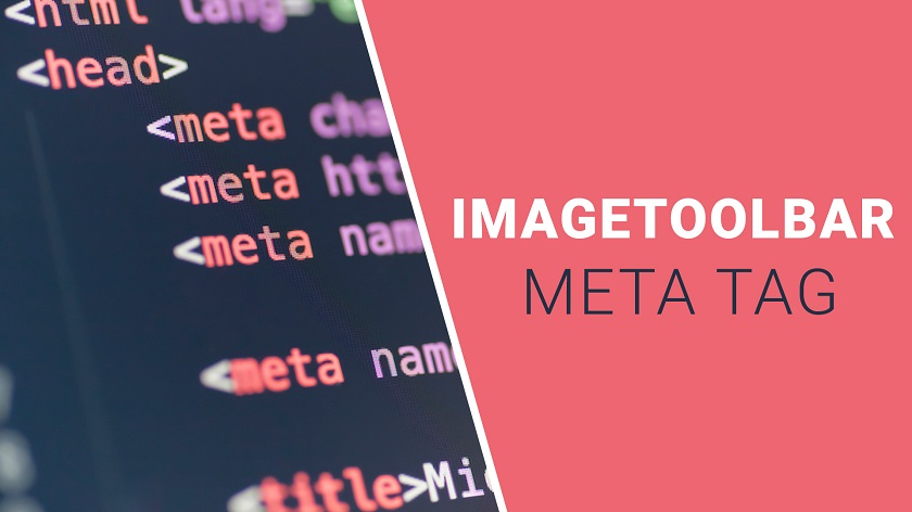IMAGETOOLBAR Meta Tag