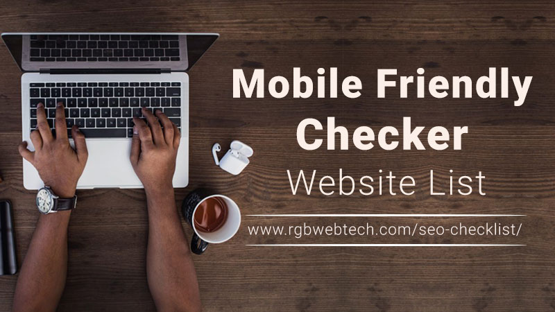 Mobile Friendly Checker Websites List
