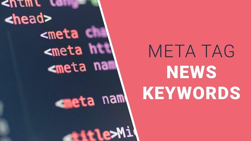 News Keywords Meta Tag