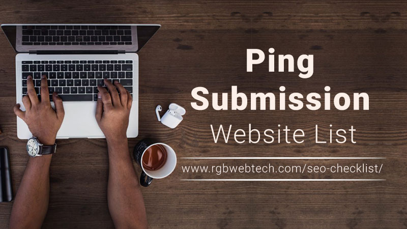 Ping Submission Site List