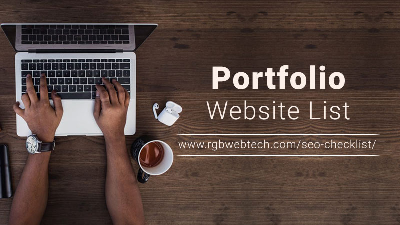 Top Portfolio Sites List