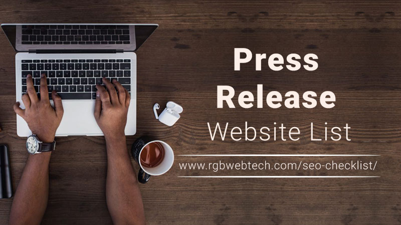 Press Release Sites List