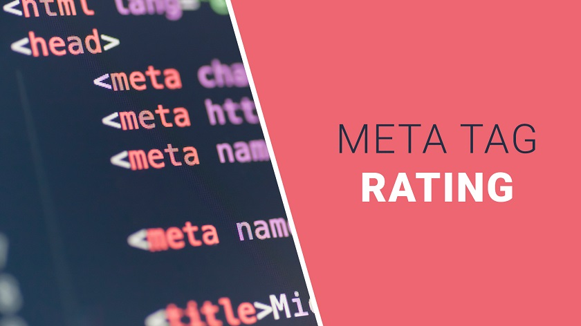 Rating Meta Tag