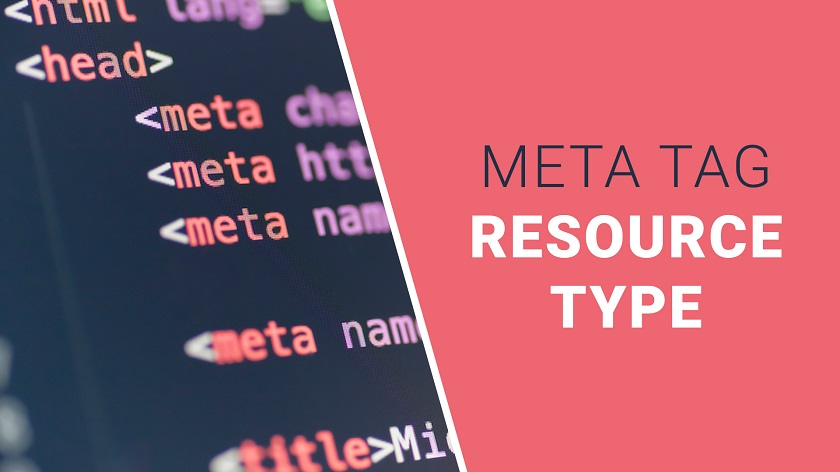 Resource Type Meta Tag