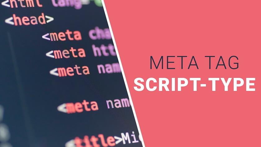 Script-Type Meta Tag