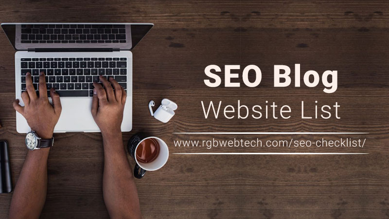 SEO Blog Sites List