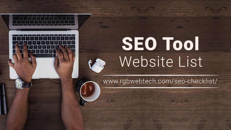 SEO Tool Sites List