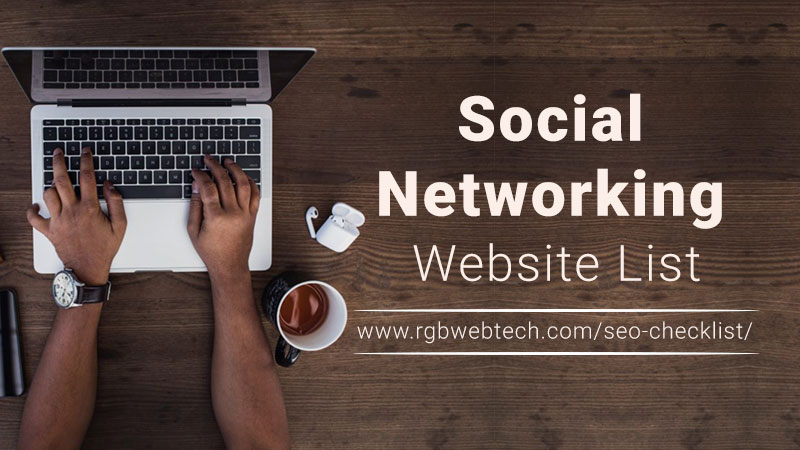 Social Networking Website List