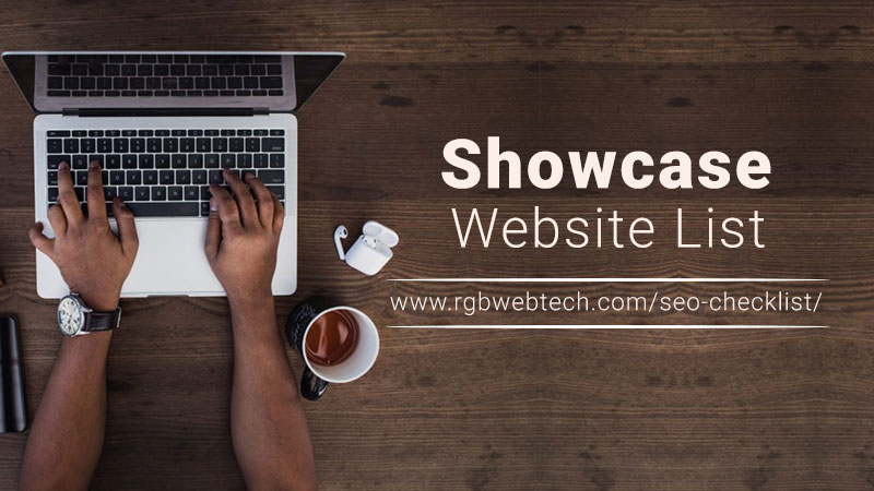 Showcase Webites List