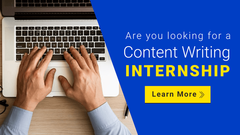 Content Writing Internship