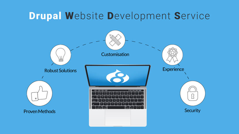 Best Drupal Website Development Service Provider Company in India