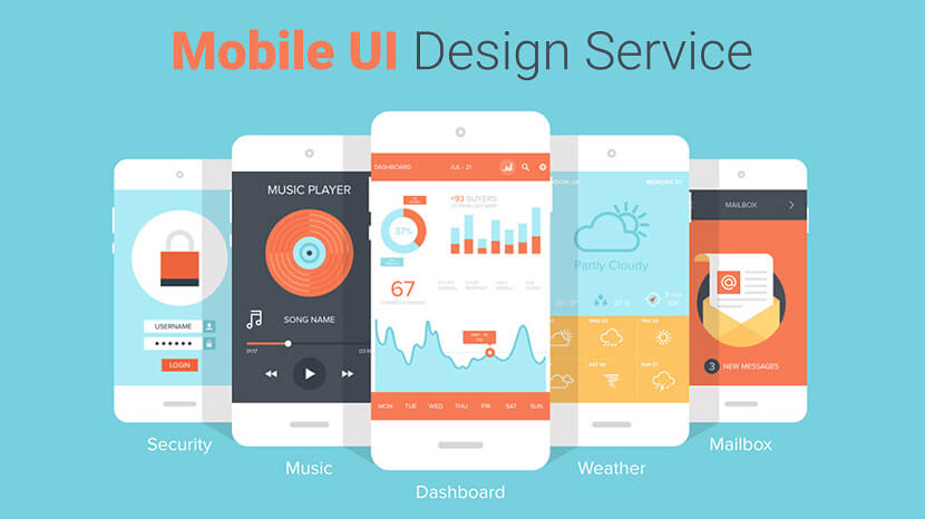 Best Mobile UI Design Service Provider Company in India