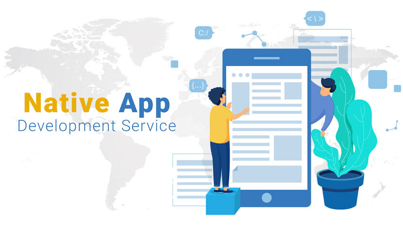 Best Native App Development Service Provider Company in India