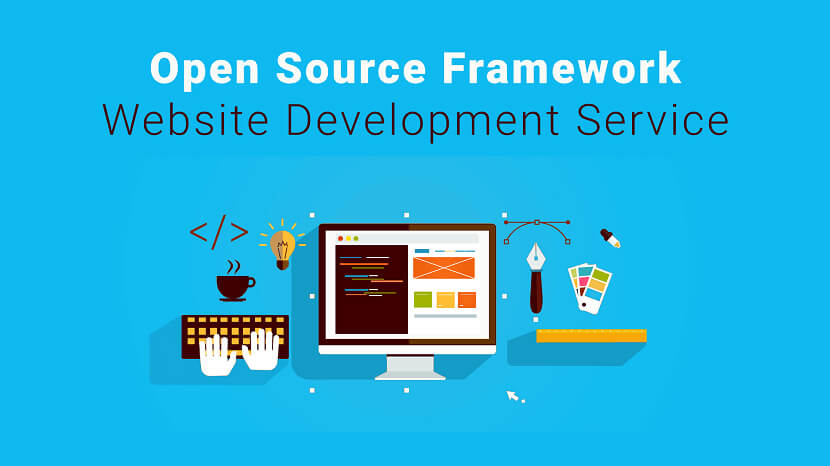 Best Open Source Framework Website Development Service Provider Company in India