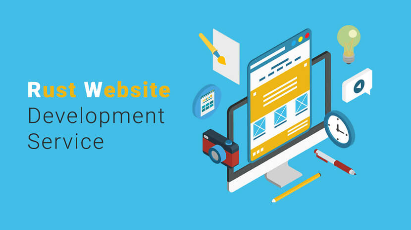 Best Rust Website Development Service Provider Company in India