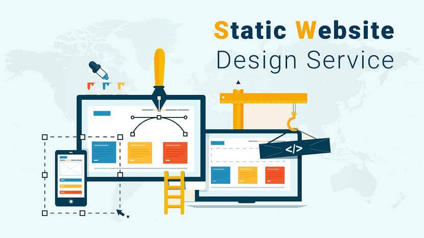 Best Static Website Design Service Provider Company in India