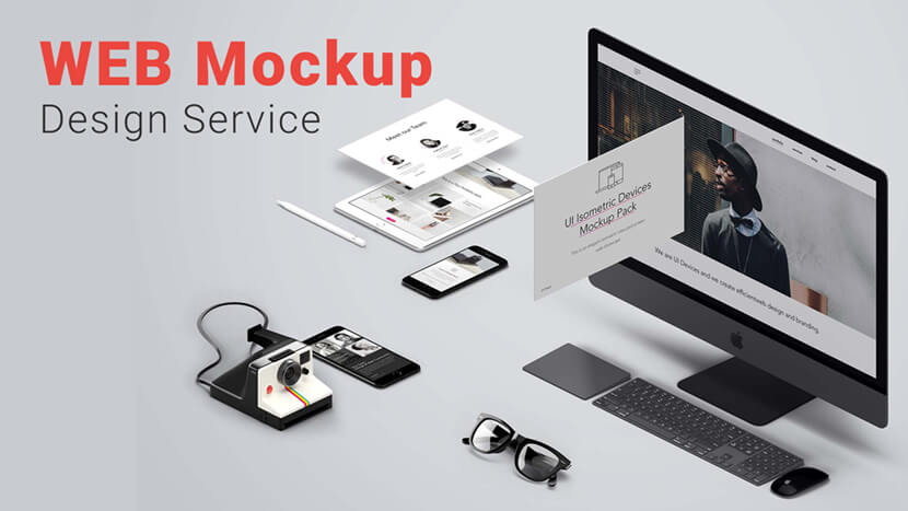 Best Web Mockup Design Service Provider Company in India